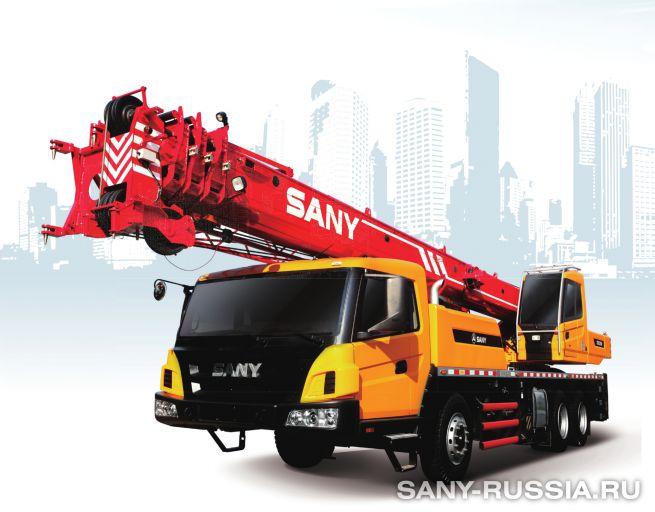Автокран SANY STC250