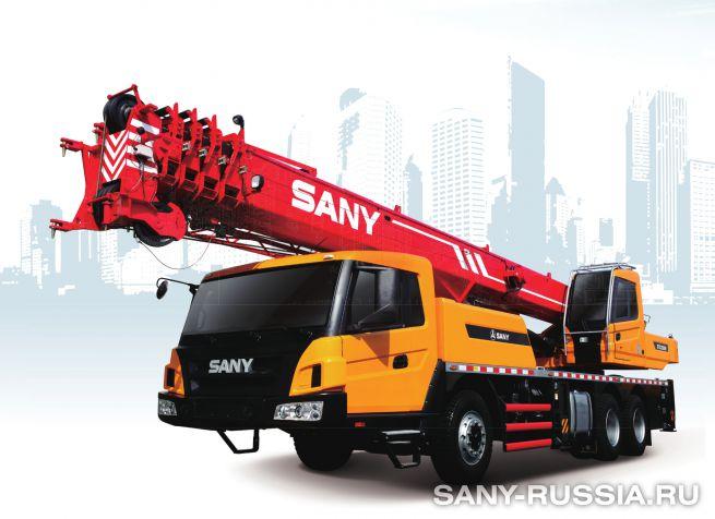 Автокран SANY STC250H