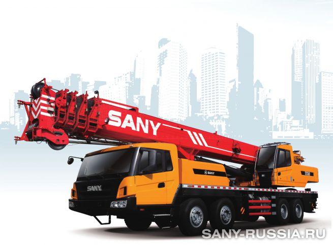 Автокран SANY STC500