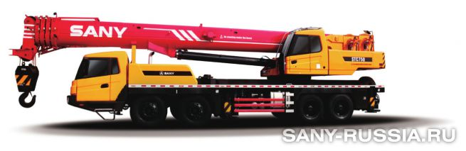 Автокран SANY STC750
