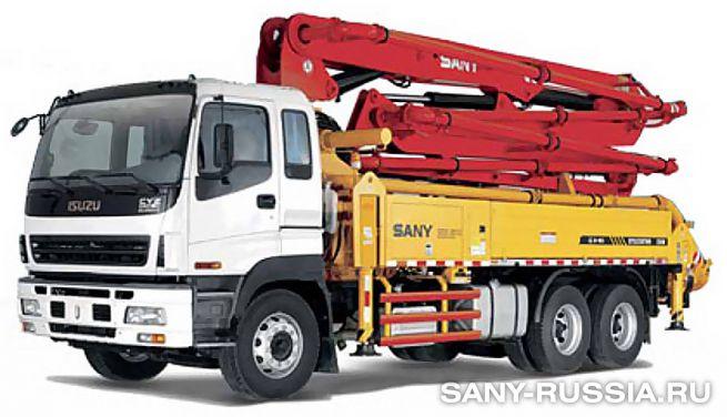 Автобетононасос SANY SYG5230THB-28