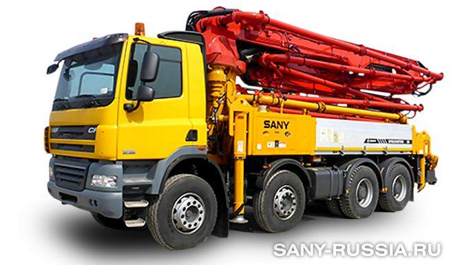 Автобетононасос SANY SYG5260THB-36