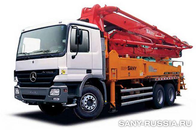 Автобетононасос SANY SYG5260THB-37