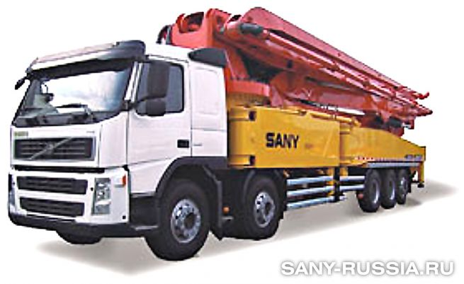 Автобетононасос SANY SYG5502THB-58