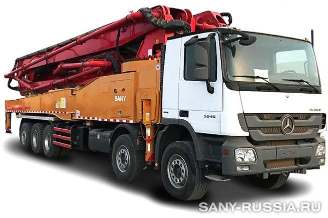 Автобетононасос SANY SYG5530THB-62-HP