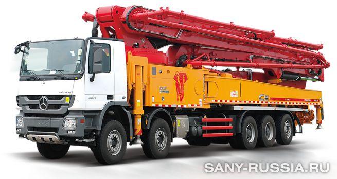 Автобетононасос SANY SYG5530THB-62