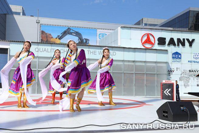SANY на СТТ-2013