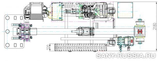 Буровая установка горизонтального бурения SANY SD180