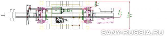 Буровая установка для струйной цементации грунтов SANY SJ510 jet grouting