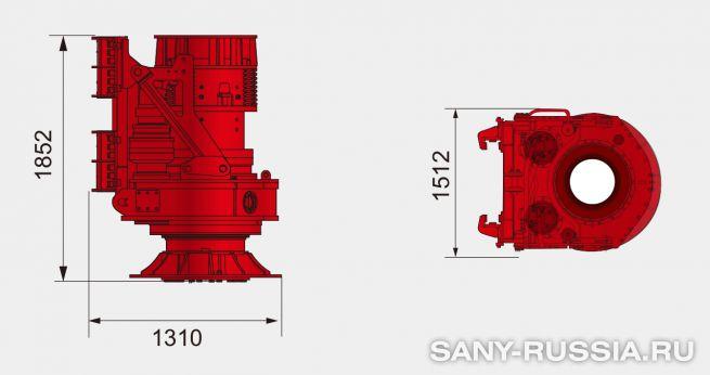 Привод ротора буровой установки SANY SR100C