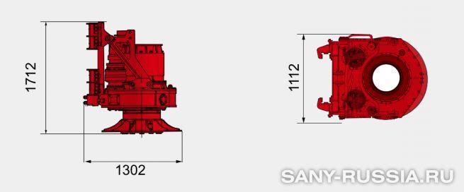 Привод ротора буровой установки SANY SR120