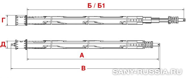 Келли-штанга буровой установки SANY SR150C