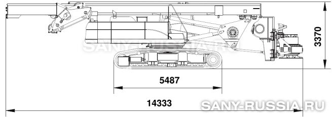 Буровая установка SANY SR200C