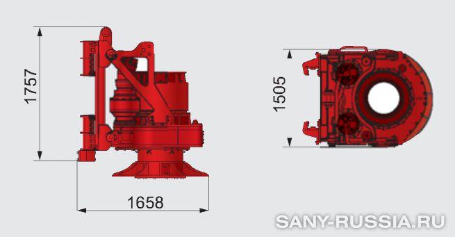 Привод ротора буровой установки SANY SR250