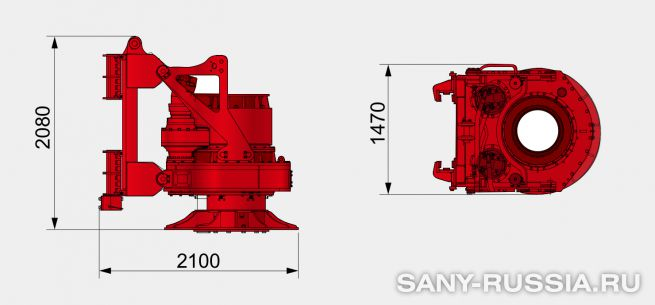 Привод ротора буровой установки SANY SR280R II