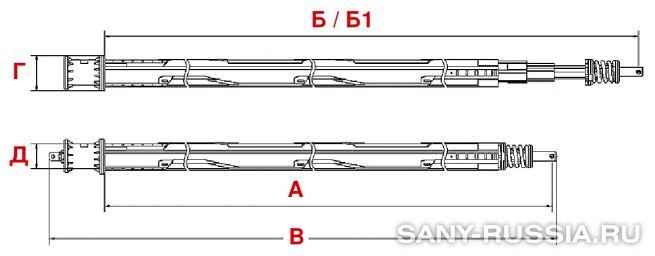 Келли-штанга буровой установки SANY SR360 II