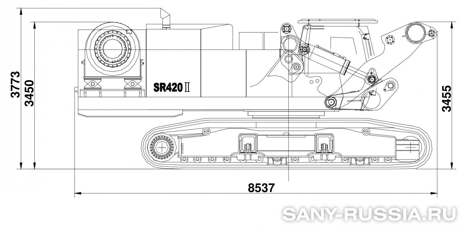 буровая установка sany 220 технические характеристики