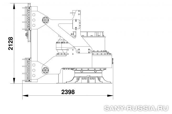 Привод ротора буровой установки SANY SR420 II